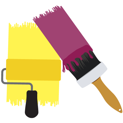Painting Services Dubai Brush and Tools