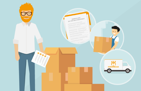 when looking for a moving company