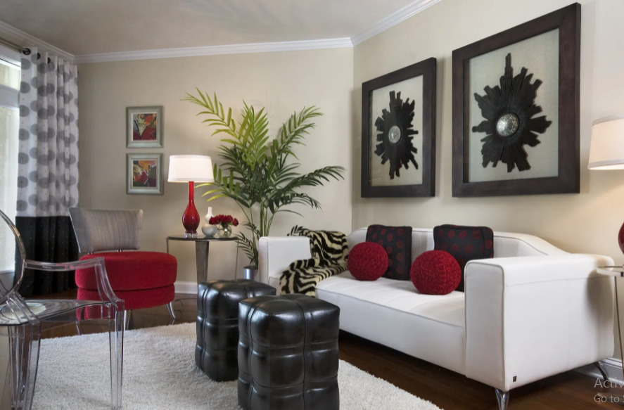 paint the walls in an apartment or room