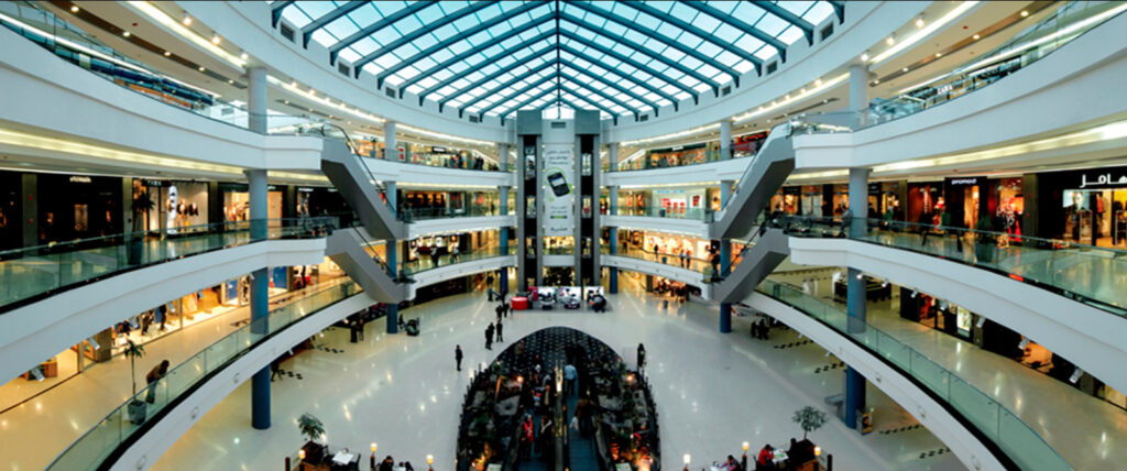 Dubai commercial cleaning for malls